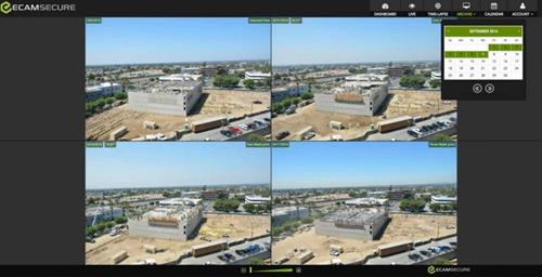ECAMSECURE's Time-lapse services