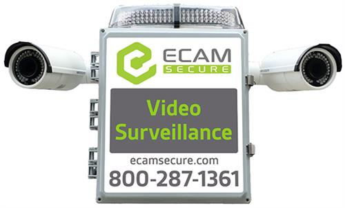 ECAMSECURE Mobile Surveillance Unit Mini