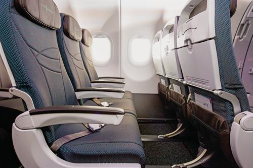 A321 Aircraft - Extra Comfort Seats