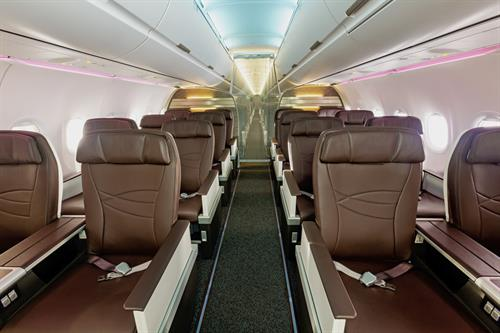 A321 Aircraft - Interior