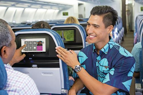 Hawaiian Hospitality on board A330 Aircraft