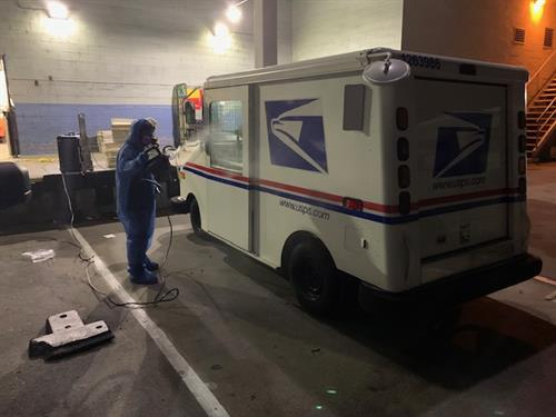 USPS  Cleaning