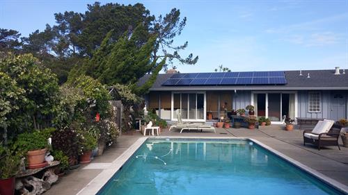 5kW residential rooftop, Tiburon CA