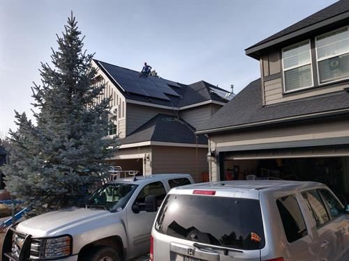 7kW residential rooftop, Bend OR