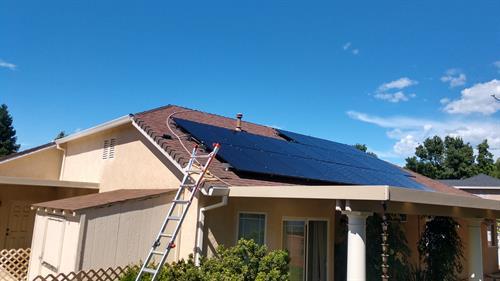 8kW residential rooftop, Redding CA