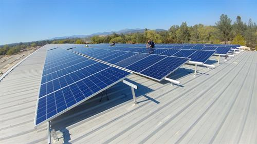 73kW commercial rooftop, Redding CA - Construction Complete