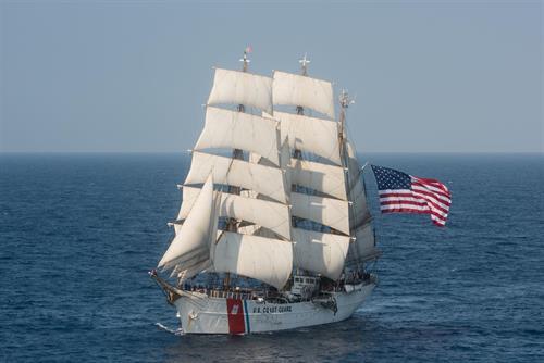 US Coast Guard Barque Eagle, USA's Tall Ship