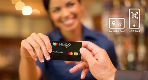 Coming to Long Beach: The Localight Gift Card works at any independent business
