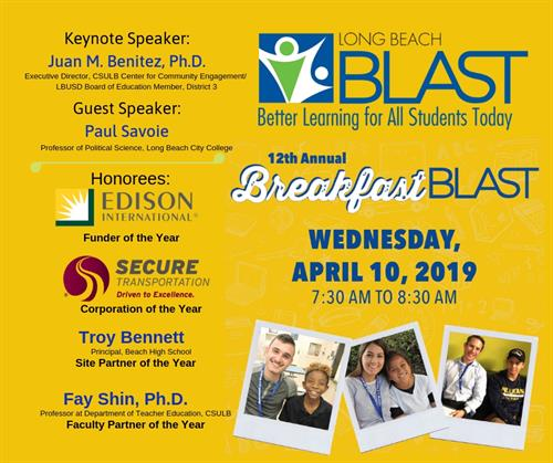 12th Annual Breakfast BLAST
