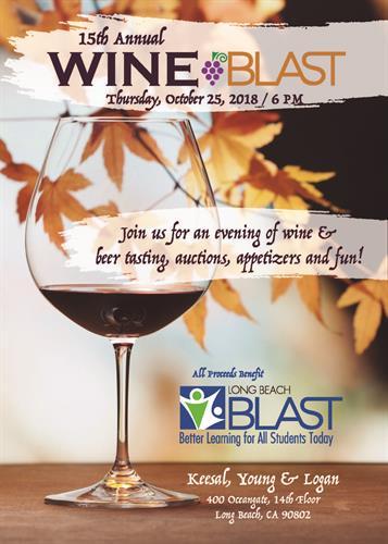 15th Annual Wine BLAST