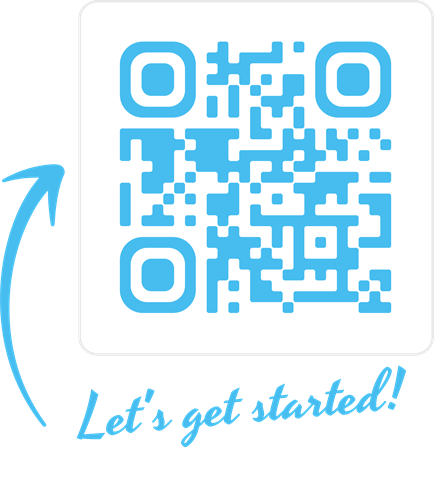 Need help with marketing material? Scan code and see our endless options!