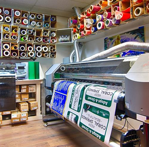Large Format HP Printers, Plotters, and Thermal Print