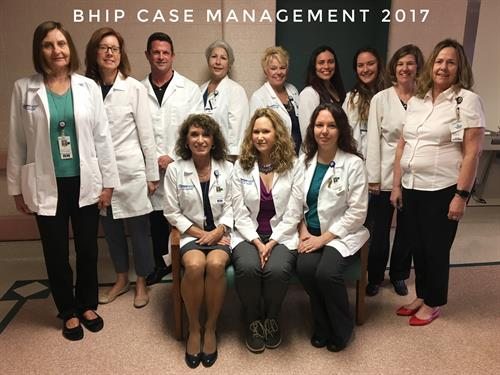 The Case Management department is made up of social workers, RNs, and more to help facilitate hospital stay and discharge.