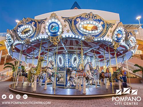 Pompano Citi Centre's Carousel