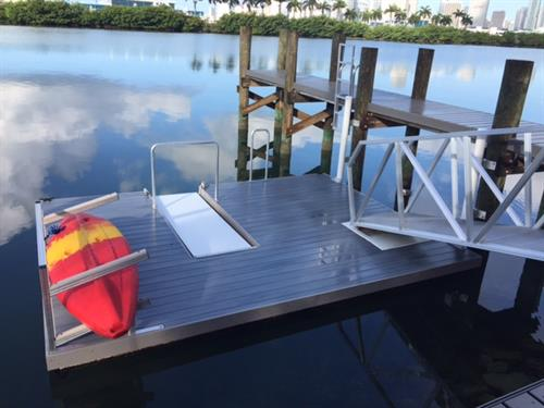 AccuDock Kayak Slip Dock