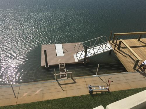 AccuDock Floating Dock