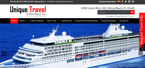 Gorgeous Travel Websites