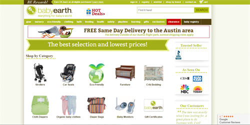 Delightful Mobile Responsive Baby Websites