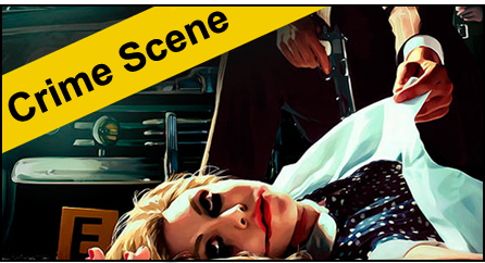 You find yourself in the middle of a crime scene not sure exactly what took place. As you try to leave the scene without becoming a suspect yourself, you may find clues along the way to help crack the case.