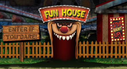 Funhouses seek to distort perceptions and startle people with unstable and unpredictable circumstances within an atmosphere of the wacky unknown.  Can you escape FUNHOUSE????