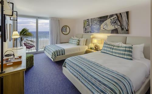 Ocean Front Guestroom