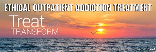 Our mission is to treat the disease of addiction and to transform the lives of our clients