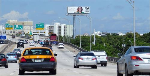 Billboard on I-595