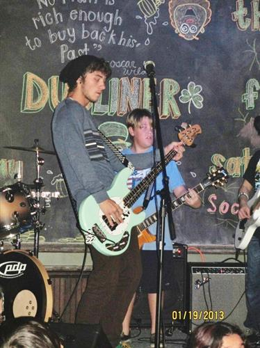 Our Students performing at the Dubliner in Boca.