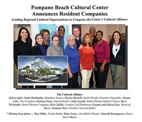 Resident Company of Pompano Beach Cultural Center
