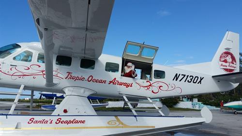 Santa's Sea Plane