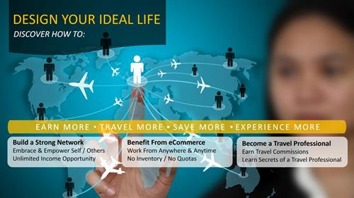 What does your ideal life look like? Imagine your dreams coming to life; debt free life, spending quality time with family and friends, buying what you want went you want, traveling all over the world and etc. We help you take your dreams and make them tangible. Create unlimited income, travel as a merchant and not a client with Plannet Marketing.