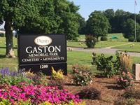 Beautiful Gaston Memorial Park welcomes you
