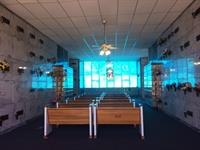 Indoor, climate controlled mausoleum options