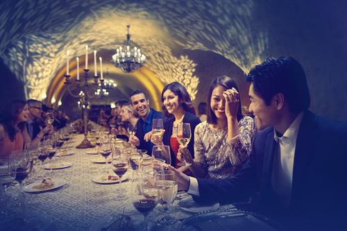 Estate Cave Dinner at The Meritage Resort and Spa