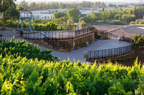 Vineyard Deck at The Meritage Resort and Spa