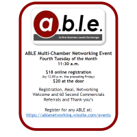 ABLE South Lunch - South Suburban Chamber Hosts July 28