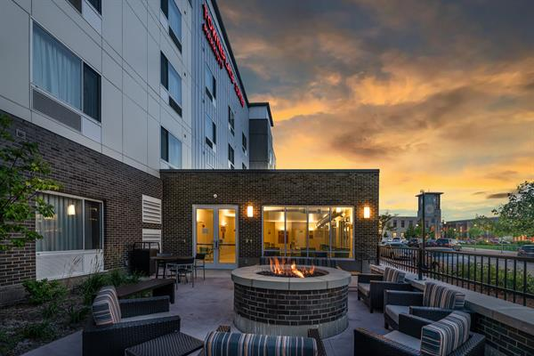 TownePlace Suites Firepit