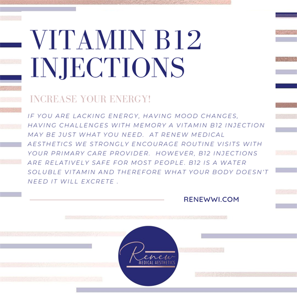 Vitamin B12 Injections - Complimentary consultations, online booking
