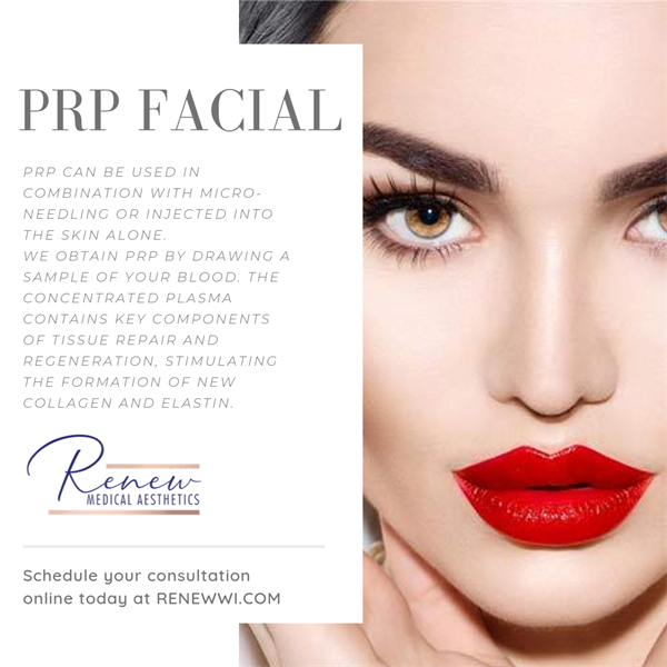 PRP facial - Complimentary consultations, online booking