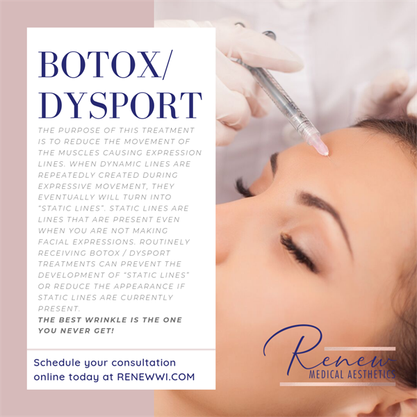 Botox/ Dysport - Complimentary consultations, online booking