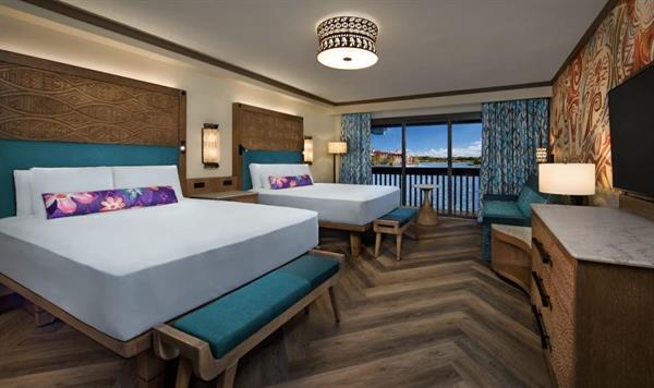 Disney's Polynesian Village Resort Moana Room Refurbishment