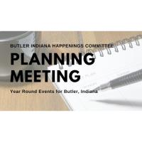 Butler Indiana Happenings Planning Meeting