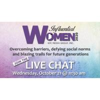 Influential Women 2020 Live Chat