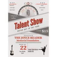 Talent Show- Joyce Reader Memorial Foundation