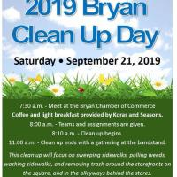 2019 Bryan Clean Up Day