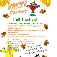 Fall Fest Scarecrow Contest