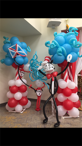 Dr. Seuss Display.