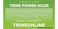 Trends with Trine Power Hour - Innovation One Resources for Businesses