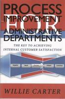 """Process Improvement for Administrative Departments"" available on Amazon."