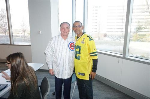 President/CEO Tim Arnold & Agency Development Manager McLane Lomax